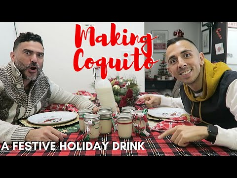 """MAKING PUERTO RICAN HOLIDAY DRINK """"COQUITO"""" + Holiday MAIL TIME 🎄"""
