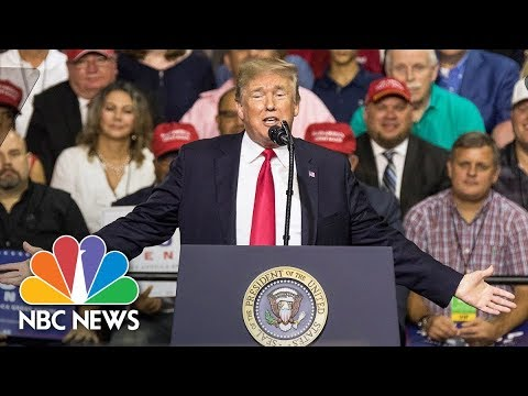 President Donald Trump Speaks At Campaign Rally In Pennsylvania | NBC News