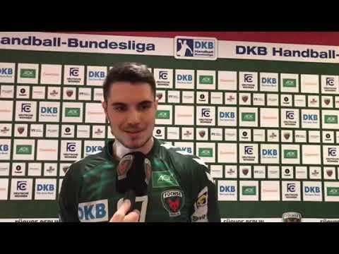 Füchse Berlin - TVB 1898 Stuttgart - Flash-Interview Lennart Gliese