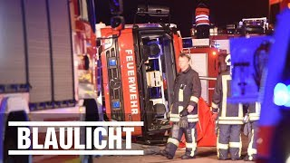 LKW rast in Unfallstelle -  Zwei Feuerwehrleute sterben auf A2