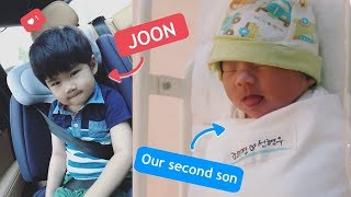 Joon Meets His Baby Brother For The First Time 👶🏻
