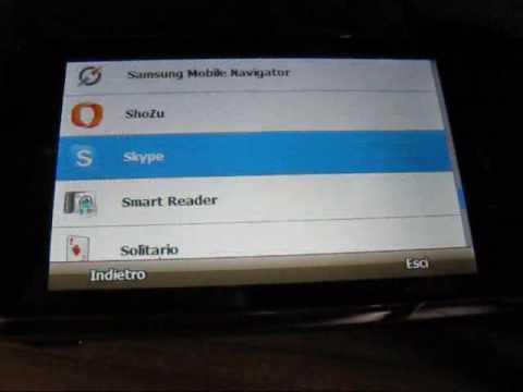 vediamo Samsung Omnia SGH i900 2 parte