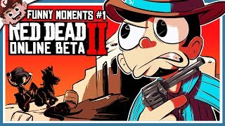 RED DEAD RE-DERP-TION 2! (RED DEAD ONLINE | Funny Moments #1)