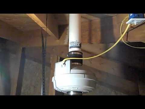 Radon System Attic Installation