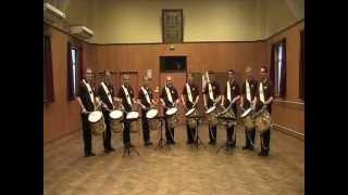 Repeat youtube video Répétition tambours de la BGHA en 2010
