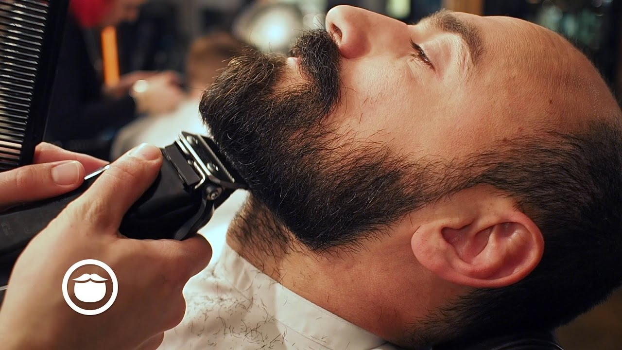 haircut and shave beard and mustache trim cut and grind 1904
