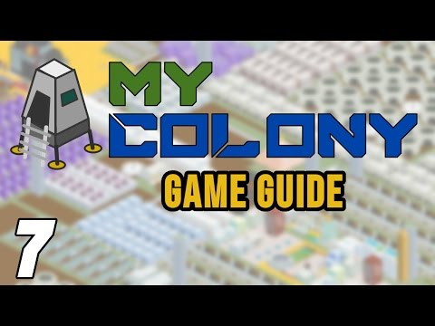 My Colony Game Tips: Part 7 - Nuclear Power! Civics, Aluminium, Ore Fracking