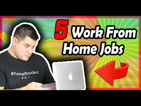Work From Home Jobs 2018 - 5 LEGIT Ways To Make Money Online