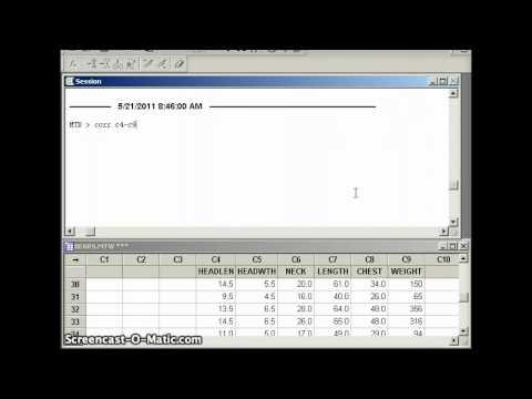 DuPage Statistics:  Multiple Regression with Minitab