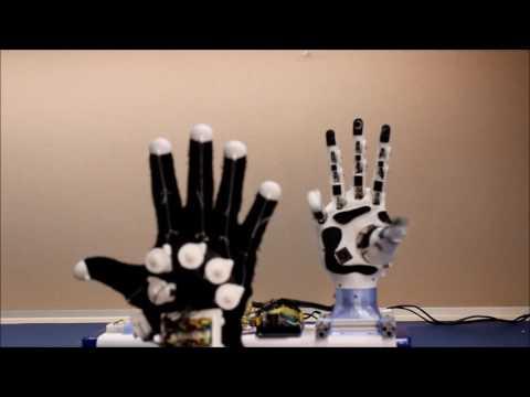 HANDi Hand Demo with Data Glove