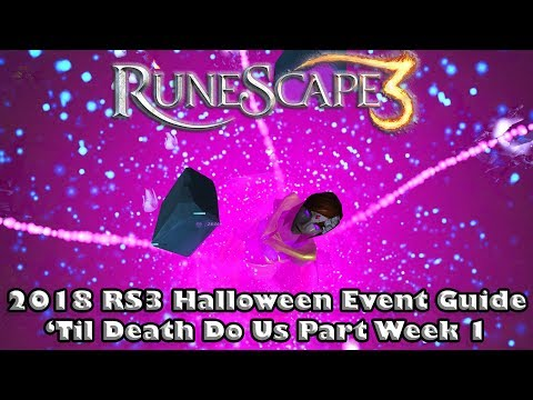 Halloween 2020 Deaths Rift Runescape Runescape 3 2018 Halloween Event   'Til Death Do Us Part   How to