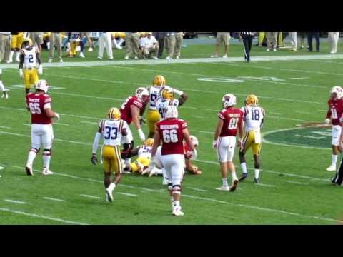 LSU vs. Wisconsin At Lambeau Field- In Stadium Highlights/Reactions
