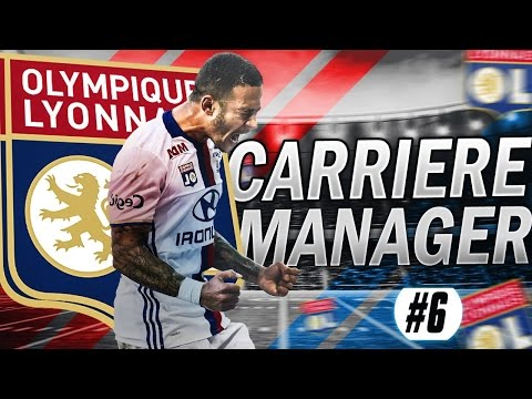 FIFA 17 | Carrière Manager | LYON #6 : KYLIAN MBAPPE