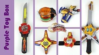 닌자포스 무기 모음 수리검 체인지 놀이 파워레인저 장난감 power rangers ninja force toys