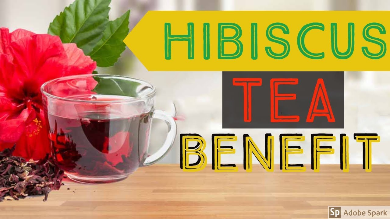5 Health Benefits Of Drinking Hibiscus Tea Youtube