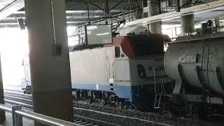 코레일 8518호 시멘트 화물열차 청량리역 대기