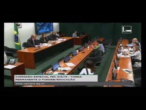 PEC 015/15 - TORNA PERMANENTE O FUNDEB / EDUCAÇÃO - Reunião Deliberativa - 15/05/2018 - 14:59