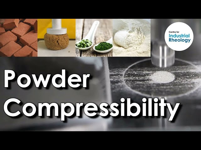 Bulk Density - Powder compressibility and density measurements