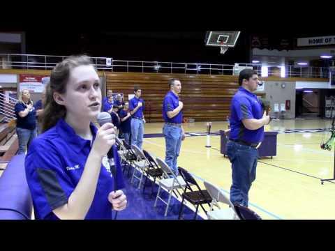 National Anthem  Victoria Mahoney
