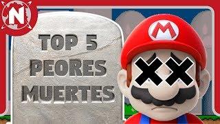 TOP 5 - Las peores muertes de los videojuegos