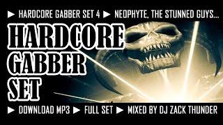 HARDCORE GABBER SET 4 ► DJ ZACK THUNDER 2015