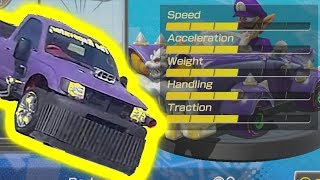 Thanos Car In Mario Kart 8!