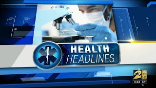 Health Headlines for April 25, 2019