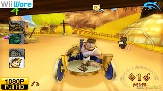 Chariot Racing - WiiWare Wii Gameplay 1080p (Dolphin GC/Wii Emulator)