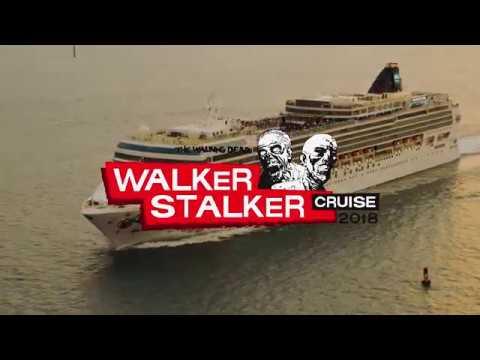 Walker Stalker Cruise 2020.Skybound And The Walking Dead Walker Stalker Cruise 2018
