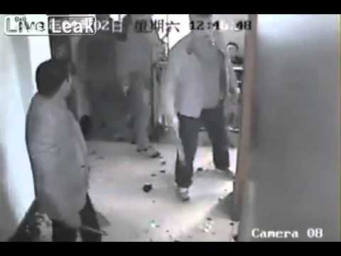 Knife Fight Between Rival Chinese Mafia.avi