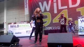 Tinashe wild wheels 94.1 performance Thumbnail