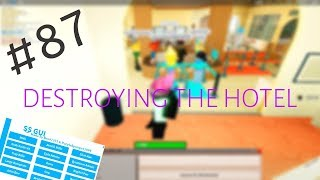Roblox Exploiting #87 - DESTROYING THE HOTEL