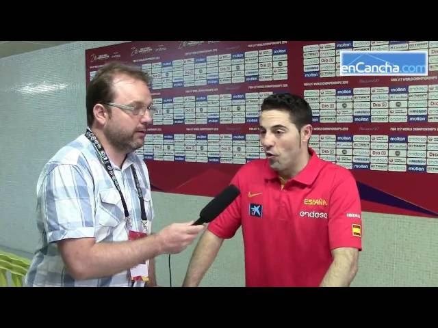 Víctor Lapeña y Lino Lopez post Mundial #U17F Zaragoza
