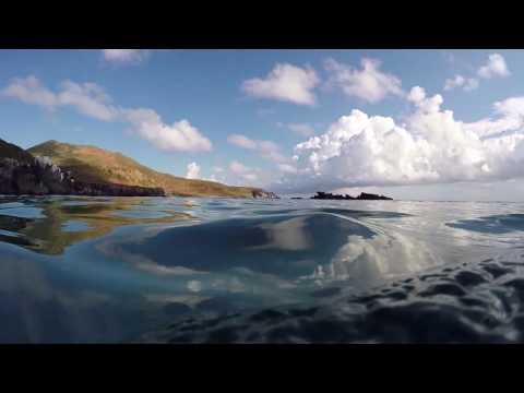Snorkeling in Coronado island, Loreto, Baja California, Mexico