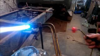 видео Газовый баллон.  Почему замерзает газ и как избежать обмерзание газового баллона