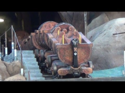 Seven Dwarfs Mine Train On-Track Ride Testing at Magic Kingdom, Disney World - Opens 2014