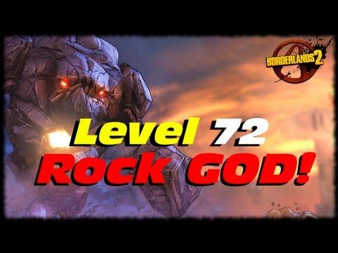 Borderlands 2 UVHM Level 72 Rock GOD Golem Evolution Transformation! How To Kill A Rock GOD!