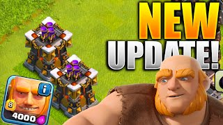 GEMMING NEW Clash of Clans UPDATE! Archer Tower Lvl 14 & Giants Lvl 8 $100 GEMMING SPREE CoC Update!