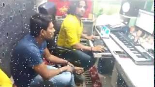 सिंगर समीर सिंह लाइव रिकॉडिंग || Kawar Kare choy choy || live ricoding sameer singh 2017