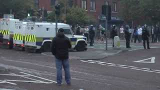 Ulster men and women successfully stop IRA terror march in Belfast