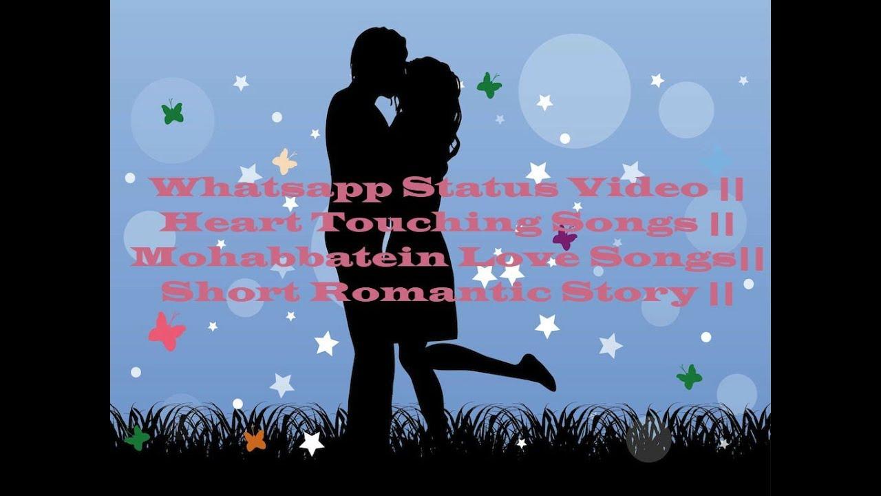 Romantic Love Story Whatsapp Status Video - YouTube
