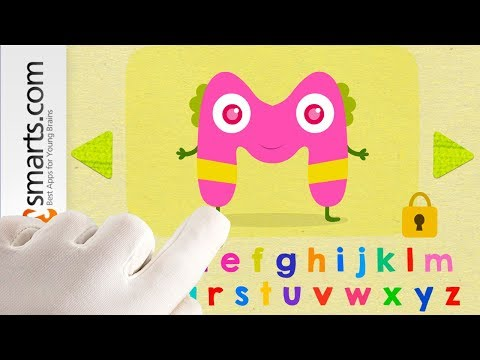 Hungry Alphabet (animated ABC Flashcards For Preschoolers)- IPad Game Demo