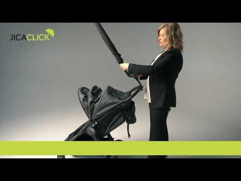 Jicaclick umbrella holder video