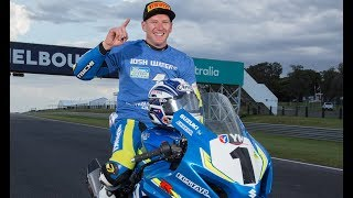 Josh Waters clinches the 2017 ASBK Superbike title on the all-new Suzuki GSX-R1000R