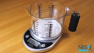 Talking Kitchen Scale with Easy to See Measuring Jug Review
