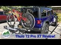 Thule T2 Pro XT review, will this rack even work on the brand new 2018 Jeep Wrangler JLUR?!? 😬