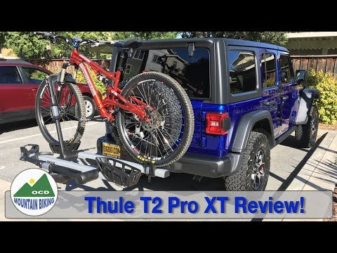 thule 963 spare me bike rack and the