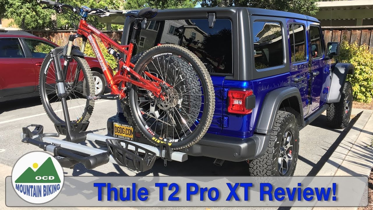 Jeep Wrangler Bike Rack >> Thule T2 Pro Xt Review Will This Rack Even Work On The Brand New 2018 Jeep Wrangler Jlur