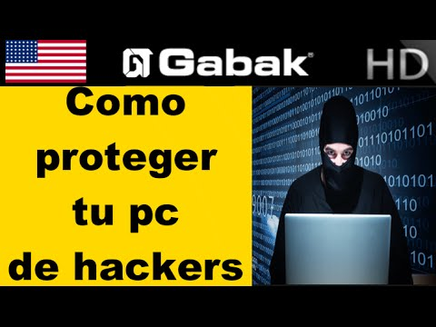 Como evitar ser atacado por hackers y proteger tu pc.