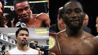 (WHOA!) ERROL SPENCE SCARED OF TERENCE CRAWFORD SAYS BOB ARUM, BUD FORCED TO CHASE MANNY PACQUIAO!!